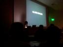 Allison: lecturer extraordinaire.