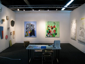 Ali Smith's paintings.