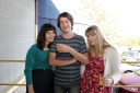 Jamie Golden (Bartender Extraodinaire), Chris Meszler (Mooch), Antonia Blocker (Gallery Manager)