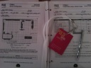 Binders and floorplans and passes, oh my.
