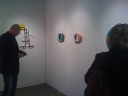 David Ryan represents in Davidson Contemporary's booth